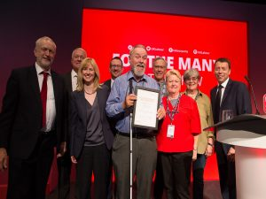 Canterbury Win at Labour Party Conference